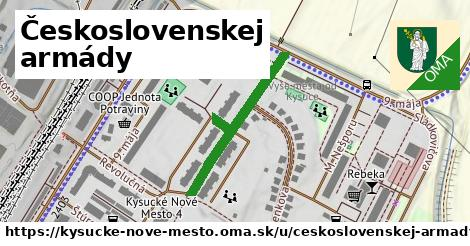 ilustračný obrázok k Československej armády, Kysucké Nové Mesto