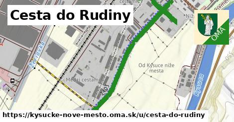 ilustrácia k Cesta do Rudiny, Kysucké Nové Mesto - 1,42km