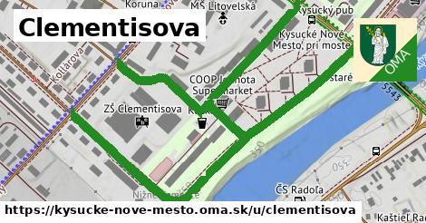 ilustrácia k Clementisova, Kysucké Nové Mesto - 1,17km