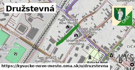 ilustrácia k Družstevná, Kysucké Nové Mesto - 233m