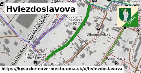 ilustrácia k Hviezdoslavova, Kysucké Nové Mesto - 376m