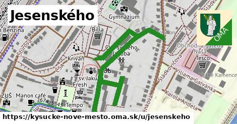 ilustrácia k Jesenského, Kysucké Nové Mesto - 624m