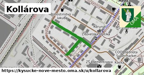 ilustrácia k Kollárova, Kysucké Nové Mesto - 238m