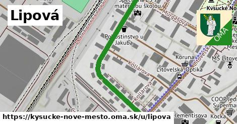 ilustrácia k Lipová, Kysucké Nové Mesto - 475m