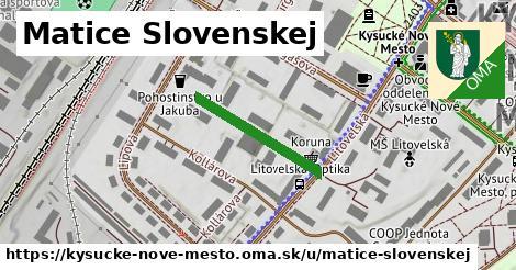 ilustrácia k Matice slovenskej, Kysucké Nové Mesto - 208m