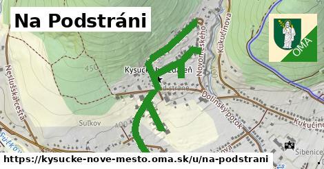 ilustrácia k Na Podstráni, Kysucké Nové Mesto - 1,30km