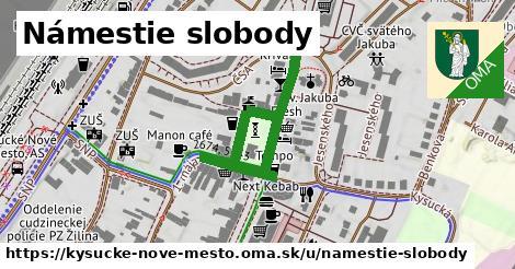 ilustrácia k Námestie slobody, Kysucké Nové Mesto - 419m