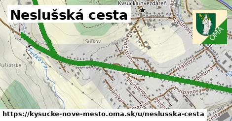 ilustrácia k Neslušská cesta, Kysucké Nové Mesto - 2,0km