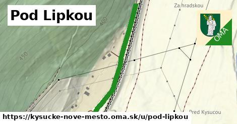ilustrácia k Pod Lipkou, Kysucké Nové Mesto - 371m