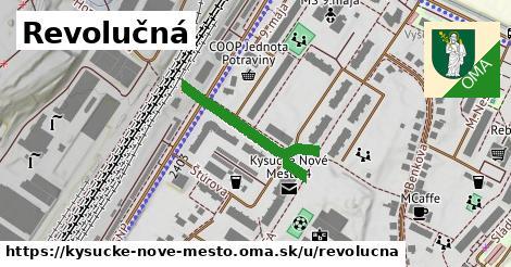 ilustrácia k Revolučná, Kysucké Nové Mesto - 228m