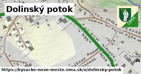 ilustrácia k Dolinský potok, Kysucké Nové Mesto - 1,04km
