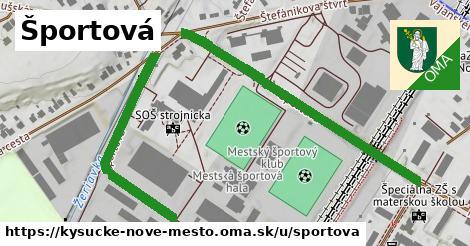 ilustrácia k Športová, Kysucké Nové Mesto - 0,77km