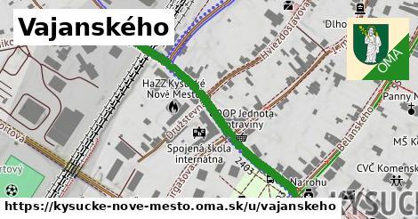 ilustrácia k Vajanského, Kysucké Nové Mesto - 390m