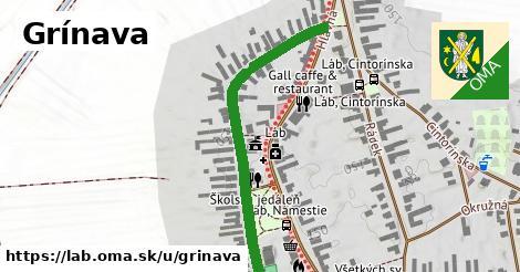 ilustračný obrázok k Grínava, Láb