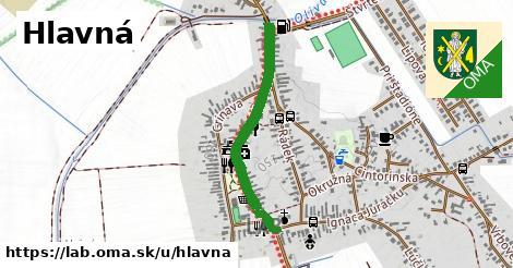 ilustrácia k Hlavná, Láb - 655m