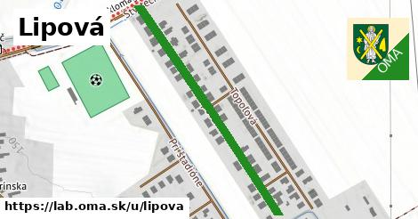 ilustrácia k Lipová, Láb - 450m