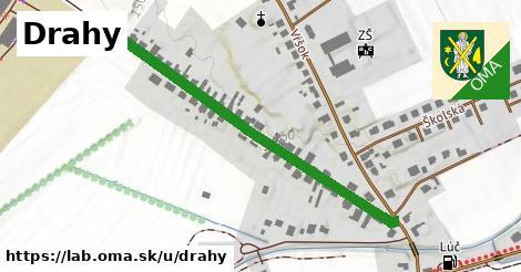 ilustrácia k Drahy, Láb - 496m