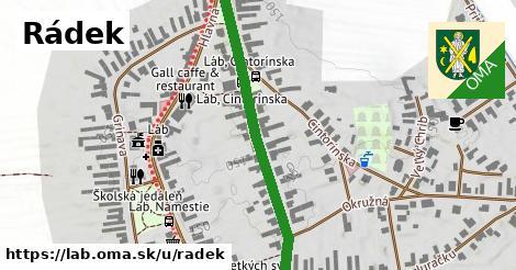 ilustrácia k Rádek, Láb - 469m