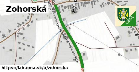 ilustračný obrázok k Zohorská, Láb