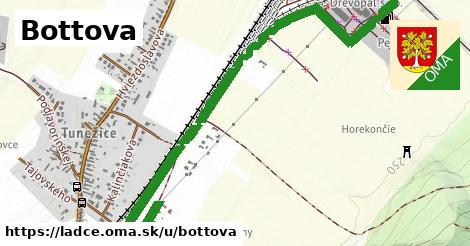 ilustrácia k Bottova, Ladce - 2,5km