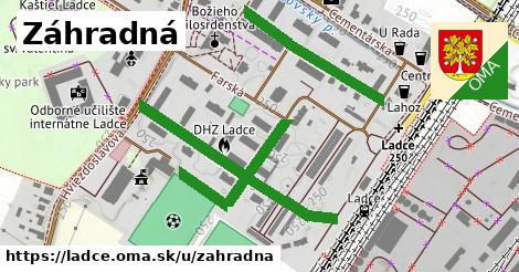 ilustrácia k Záhradná, Ladce - 398m