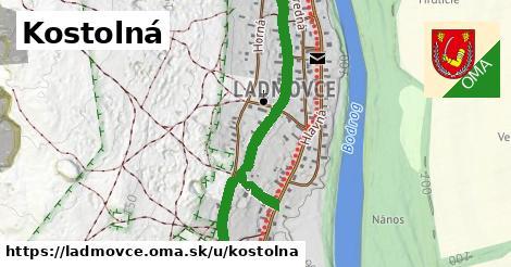 ilustrácia k Kostolná, Ladmovce - 1,25km