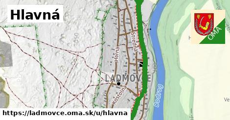ilustrácia k Hlavná, Ladmovce - 2,2km