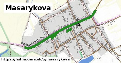 ilustrácia k Masarykova, Ladná - 1,18km