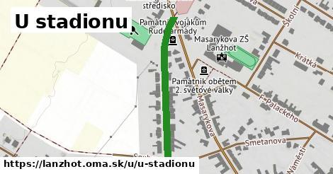 ilustrácia k U stadionu, Lanžhot - 320m