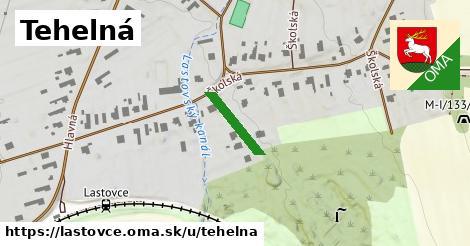 ilustrácia k Tehelná, Lastovce - 160m