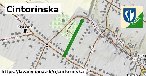 ilustrácia k Cintorínska, Lazany - 188m