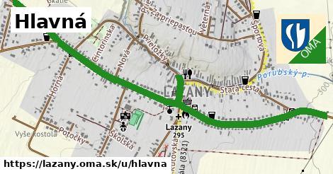 ilustrácia k Hlavná, Lazany - 1,57km