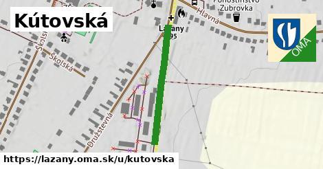 ilustrácia k Kútovská, Lazany - 289m