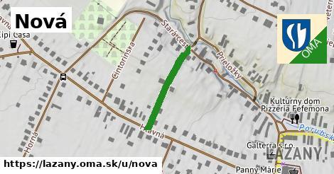 ilustrácia k Nová, Lazany - 205m