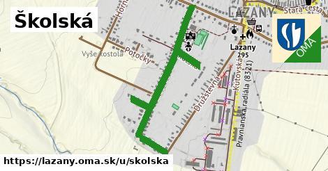 ilustrácia k Školská, Lazany - 0,91km