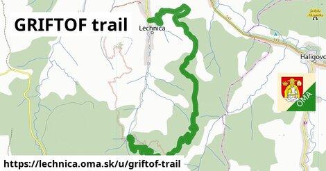 ilustrácia k GRIFTOF trail, Lechnica - 7,6km
