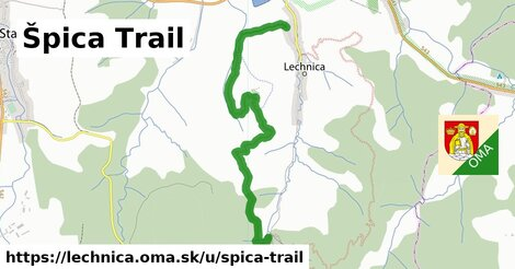 ilustrácia k Špica Trail, Lechnica - 4,6km