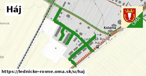 ilustrácia k Háj, Lednické Rovne - 638m