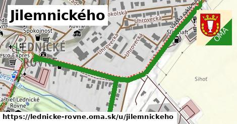 ilustrácia k Jilemnického, Lednické Rovne - 0,78km