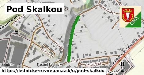 ilustrácia k Pod Skalkou, Lednické Rovne - 242m
