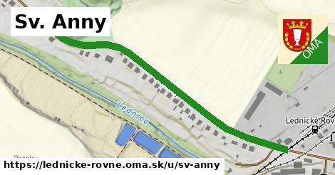 ilustrácia k Sv. Anny, Lednické Rovne - 607m