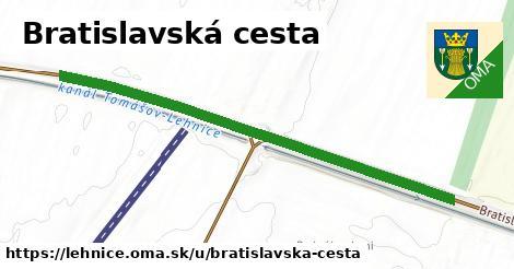 ilustrácia k Bratislavská cesta, Lehnice - 606m