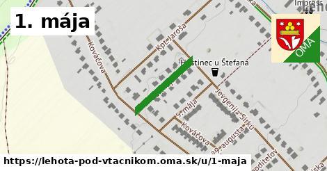 ilustrácia k 1. mája, Lehota pod Vtáčnikom - 173m