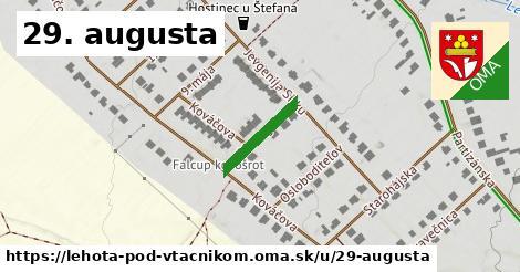 ilustrácia k 29. augusta, Lehota pod Vtáčnikom - 144m