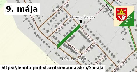 ilustrácia k 9. mája, Lehota pod Vtáčnikom - 167m