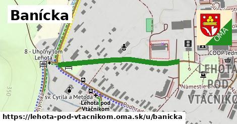 ilustrácia k Banícka, Lehota pod Vtáčnikom - 379m