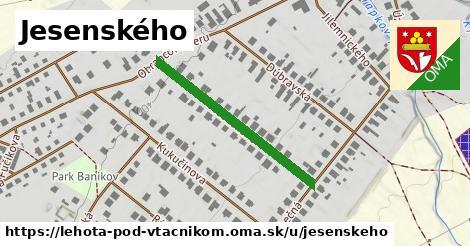 ilustrácia k Jesenského, Lehota pod Vtáčnikom - 318m