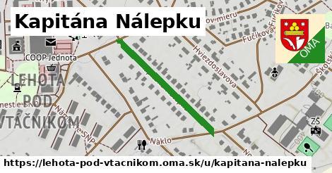 ilustrácia k Kapitána Nálepku, Lehota pod Vtáčnikom - 297m