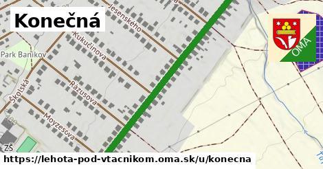 ilustrácia k Konečná, Lehota pod Vtáčnikom - 536m