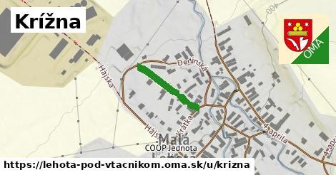 ilustrácia k Krížna, Lehota pod Vtáčnikom - 173m
